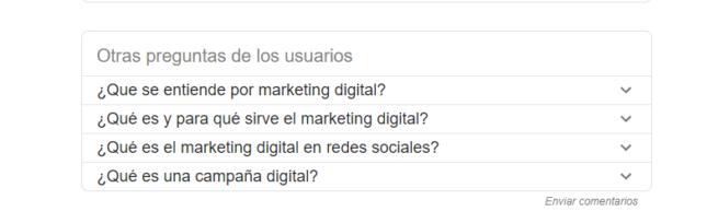 preguntas google